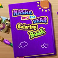 Оцветяване на Маша и Мечокът